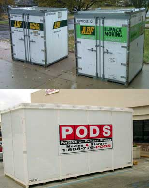 Our advice on UPACK or PODS