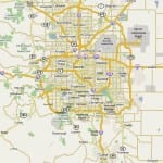 Denver area moving service map