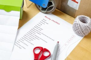 Checklist Plan For Moving Companies