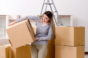 moving boxes packed to heavy movers needed